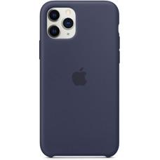 Чехол Apple Silicone Case для iPhone 11 Pro Midnight Blue синий
