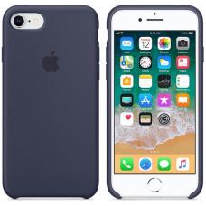Чехол Apple для iPhone 8/7 Silicone Case Midnight Blue синий