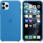 Чехол Apple Silicone Case для iPhone 11 Pro Max Surf Blue синий
