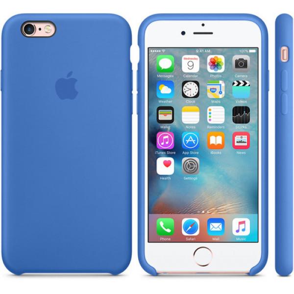 Чехол Apple Silicone Case для iPhone 6/6s Royal Blue синий