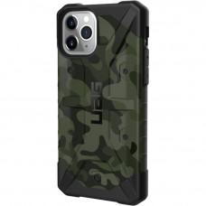 Чехол UAG Pathfinder SE Camo для iPhone 11 Pro зелёный Forest