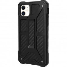 Чехол UAG Monarch Series Case для iPhone 11 чёрный карбон