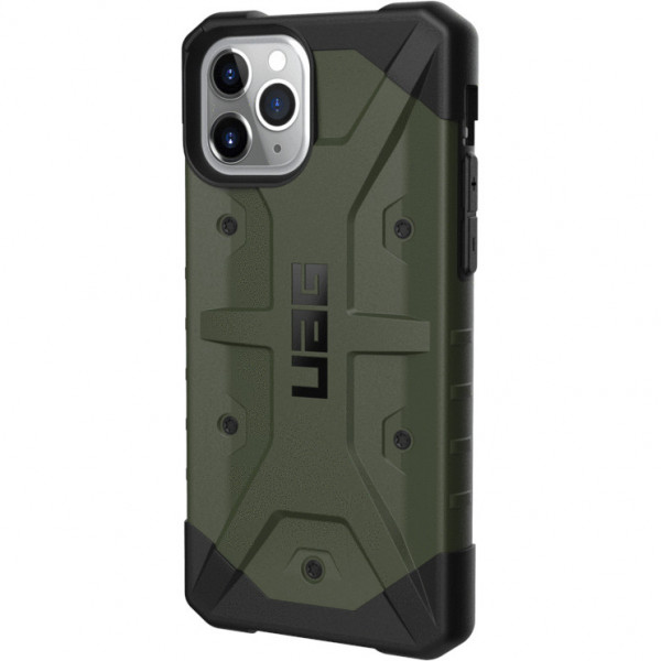 Чехол UAG Pathfinder Series Case для iPhone 11 Pro оливковый (Olive Drab)
