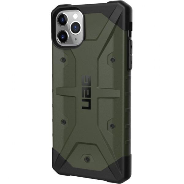 Чехол UAG Pathfinder Series Case для iPhone 11 Pro Max оливковый (Olive Drab)