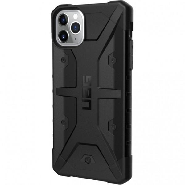 Чехол UAG Pathfinder Series Case для iPhone 11 Pro Max чёрный (Black)