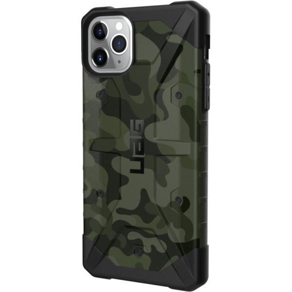 Чехол UAG Pathfinder SE Camo для iPhone 11 Pro Max зелёный Forest
