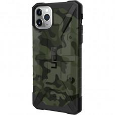 Чехол UAG Pathfinder SE Camo для iPhone 11  зелёный Forest