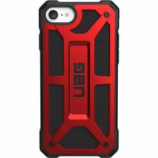 Чехол UAG Monarch Series Case для iPhone iPhone 7/8/SE 2 2020 красный (Crimson)