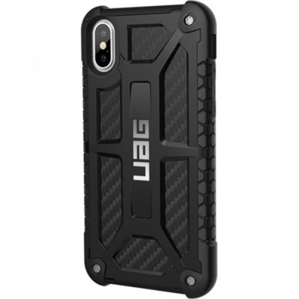 Чехол UAG Monarch Series Case для iPhone X/XS карбон