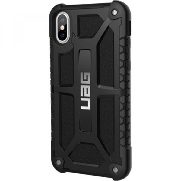 Чехол UAG Monarch Series Case для iPhone X/XS чёрный