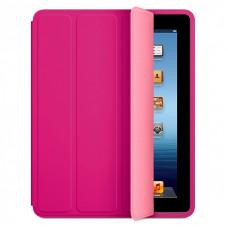 Чехол книжка Smart Case для планшетов Apple iPad 2/3/4 малиновый эко кожа