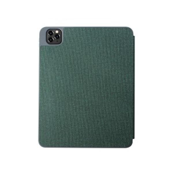 Чехол-накладка Mutural для iPad 12.9 2020 зеленый