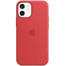 Чехол Apple Silicone MagSafe для iPhone 12 mini (PRODUCT)RED
