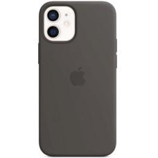 Чехол Apple Silicone MagSafe для iPhone 12 mini Black