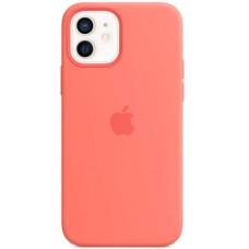 Чехол Apple Silicone MagSafe для iPhone 12/12 Pro Pink Citrus