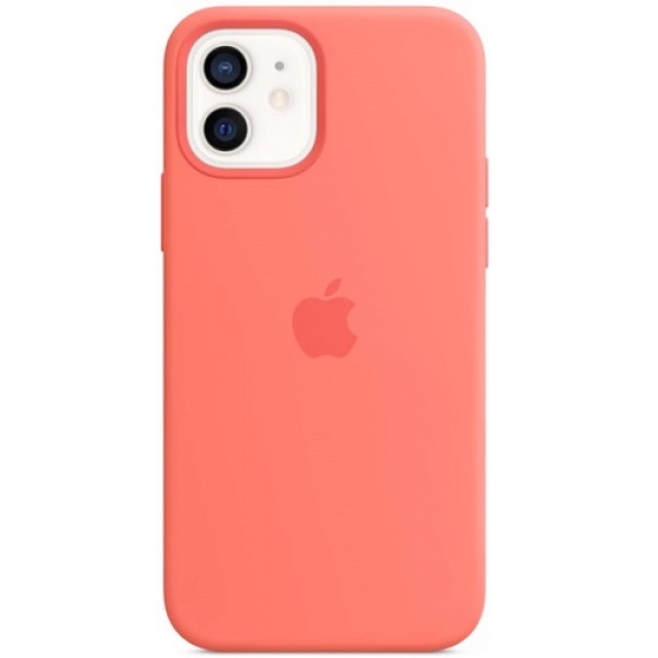 Чехол Apple Silicone MagSafe для iPhone 12/12 Pro Pink Citrus