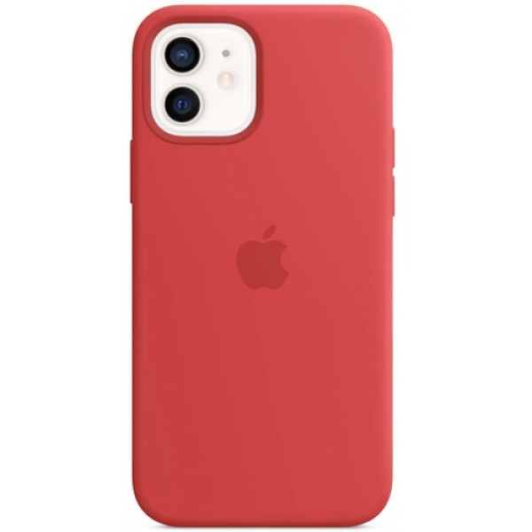 Чехол Apple Silicone MagSafe для iPhone 12/12 Pro (PRODUCT)RED