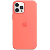 Чехол Apple Silicone MagSafe для iPhone 12 Pro Max Pink Citrus