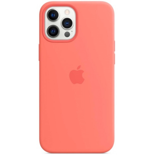 Чехол Apple Silicone MagSafe для iPhone 12 Pro Max Pink Citrus