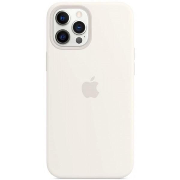 Чехол Apple Silicone MagSafe для iPhone 12 Pro Max White