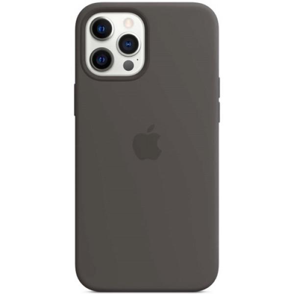 Чехол Apple Silicone MagSafe для iPhone 12 Pro Max Black