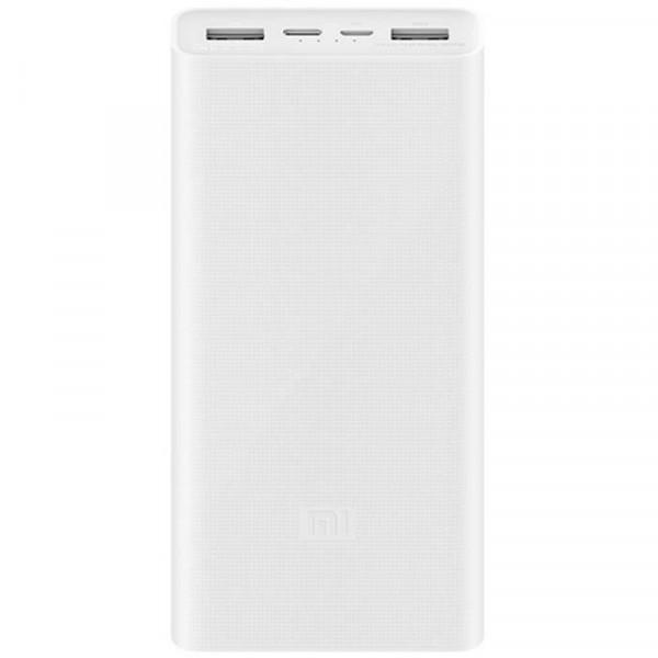 Внешний аккумулятор Xiaomi Power Bank 3 USB-C/Micro-USB (20000 mAh, белый)