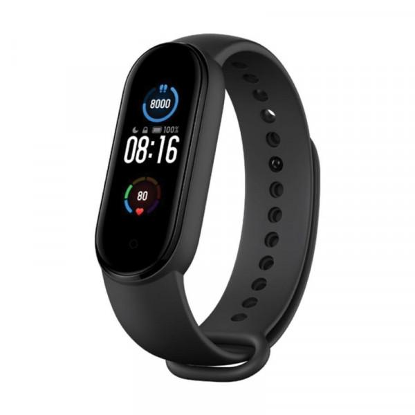 Умный фитнес браслет Xiaomi Mi Smart Band 5 черный