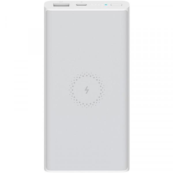 Внешний аккумулятор с поддержкой беспроводной зарядки Xiaomi Mi Power Bank Youth Edition (10000 mAh, белый)