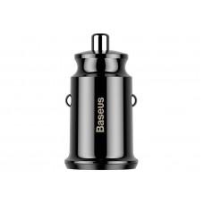Автомобильное зарядное устройство Baseus Grain Car Charger Black