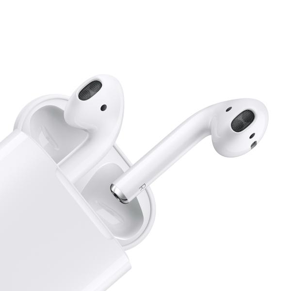 Беспроводные наушники Apple AirPods 2 в футляре с возможностью беспроводной зарядки