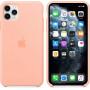 Силиконовый чехол Apple Silicone Case для iPhone 11 Pro Max Grapefruit розовый