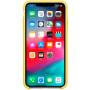 Силиконовый чехол Apple Silicone Case для iPhone XS Max Canary Yellow желтый