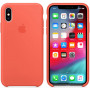 Чехол Apple Silicone Case для iPhone XS Max Nectarine оранжевый