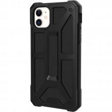 Чехол UAG Monarch Series Case для iPhone 11 чёрный (Black)