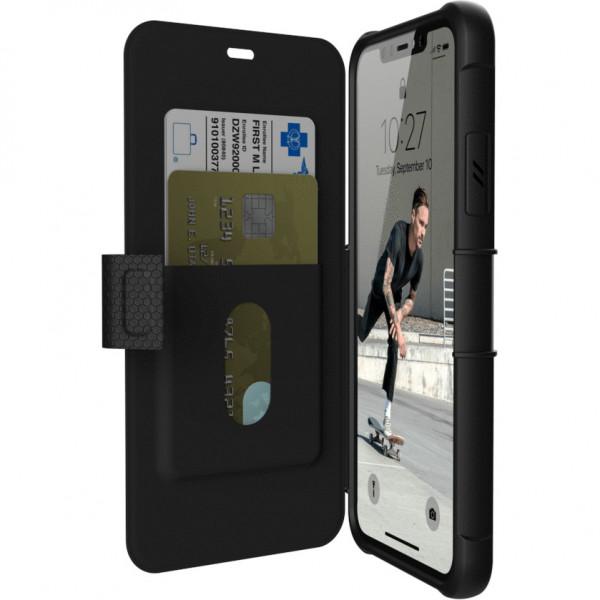 Чехол UAG Metropolis Series Case для iPhone 11 Pro Max чёрный (Black)