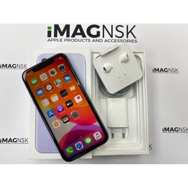 Б/У Apple iPhone 11 64GB Purple (фиолетовый)